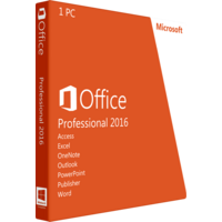 Microsoft Office Professional 2016 Full OEM Version