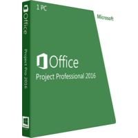 Microsoft Project Professional 2016 Full OEM Version