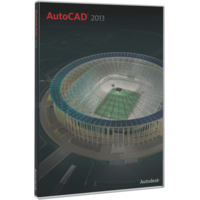 Autodesk AutoCAD 2013 Full OEM Version